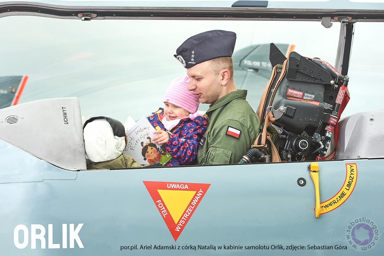 Pilot z dzieckiem Glycine
