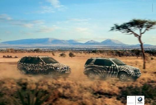 Reklama BMW i Mercedes